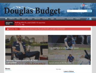 m.douglas-budget.com screenshot
