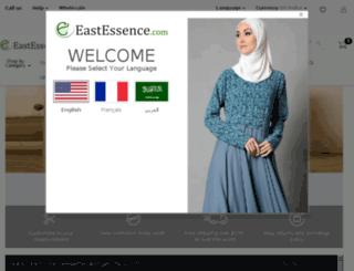 m.eastessence.com screenshot