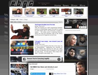 m.easybakegunclub.com screenshot