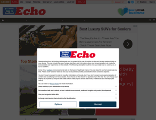 m.echo-news.co.uk screenshot