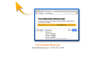 m.elemanonline.net screenshot