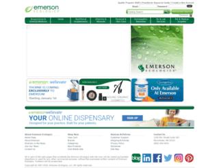 m.emersonecologics.com screenshot
