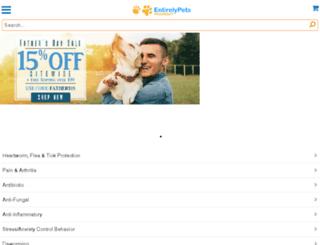 m.entirelypetspharmacy.com screenshot