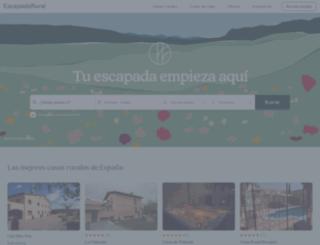 m.escapadarural.com screenshot