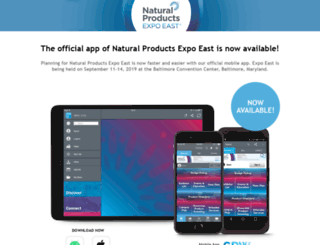 m.expoeast.com screenshot