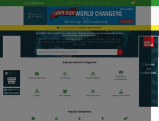 m.findamasters.com screenshot