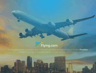 m.flying.com screenshot