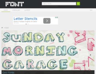 m.font.downloadatoz.com screenshot