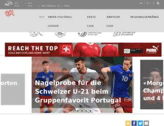 m.football.ch screenshot