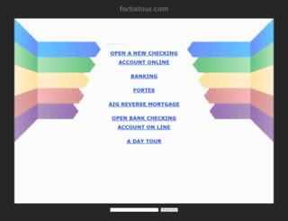 m.fortistour.com screenshot