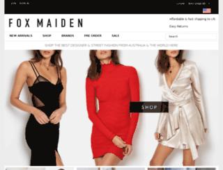 m.foxmaiden.com.au screenshot