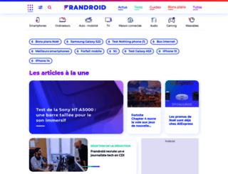 m.frandroid.com screenshot