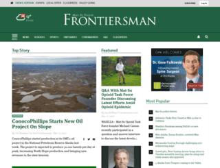 m.frontiersman.com screenshot