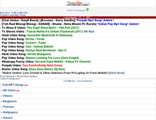 m.funzstar.com screenshot