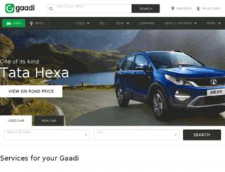 m.gaadi.com screenshot