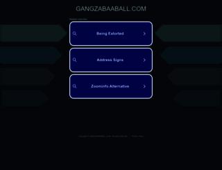 m.gangzabaaball.com screenshot