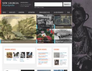 m.georgiaencyclopedia.org screenshot