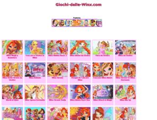 m.giochi-delle-winx.com screenshot