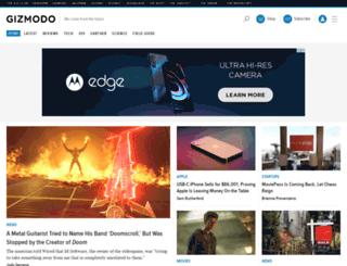 m.gizmodo.com screenshot