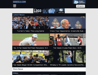 m.goheels.com screenshot