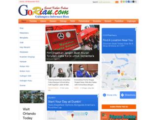 m.goriau.com screenshot