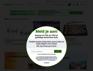 m.groupon.nl screenshot