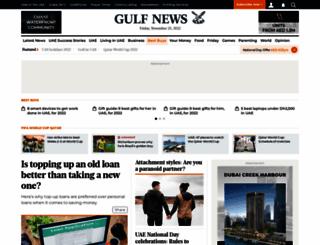 m.gulfnews.com screenshot