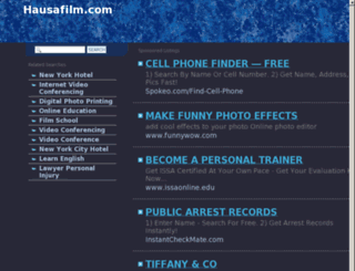 m.hausafilm.com screenshot