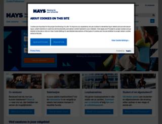 m.hays.nl screenshot