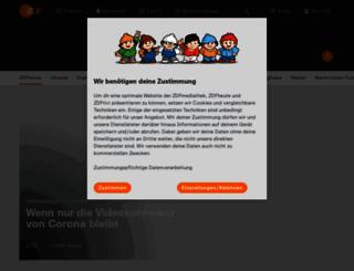 m.heute.de screenshot