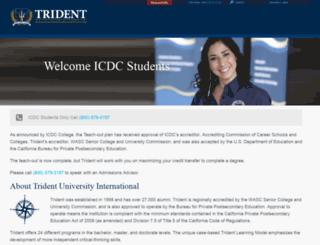 m.icdccollege.edu screenshot