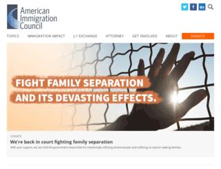 m.immigrationpolicy.org screenshot