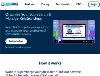 m.jibberjobber.com screenshot