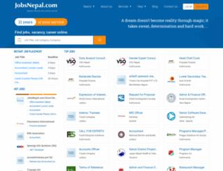 m.jobsnepal.com screenshot