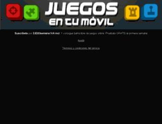 m.juegosentumovil.com screenshot