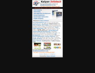 m.kalyaninfotech.com screenshot
