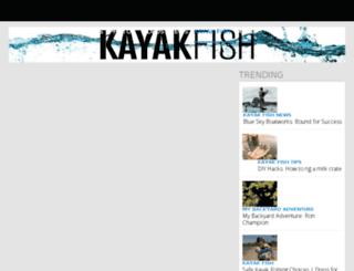 m.kayakfishmag.com screenshot