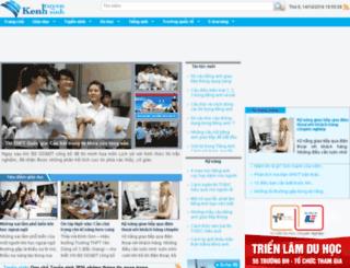 m.kenhtuyensinh.vn screenshot