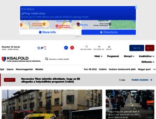 m.kisalfold.hu screenshot