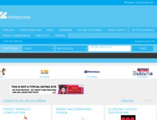 m.klikdoposla.com screenshot