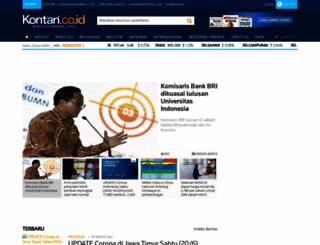 m.kontan.co.id screenshot