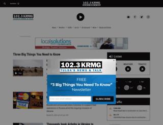 m.krmg.com screenshot