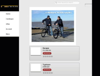 m.kudoscycles.com screenshot