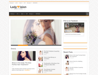 m.ladyvision.net screenshot