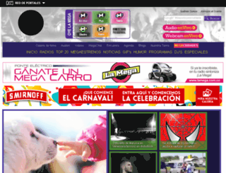 m.lamega.com.co screenshot