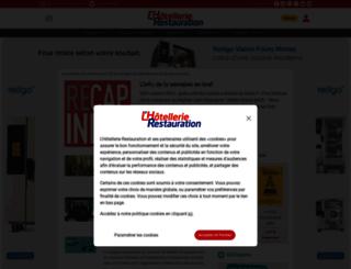 m.lhotellerie-restauration.fr screenshot
