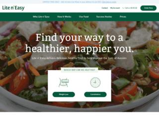 m.liteneasy.com.au screenshot