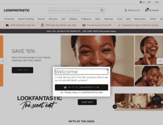 m.lookfantastic.com screenshot