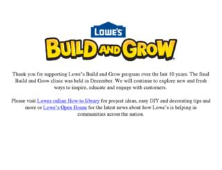 m.lowesbuildandgrow.com screenshot