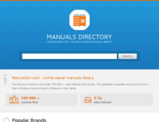 m.manualsdir.com screenshot